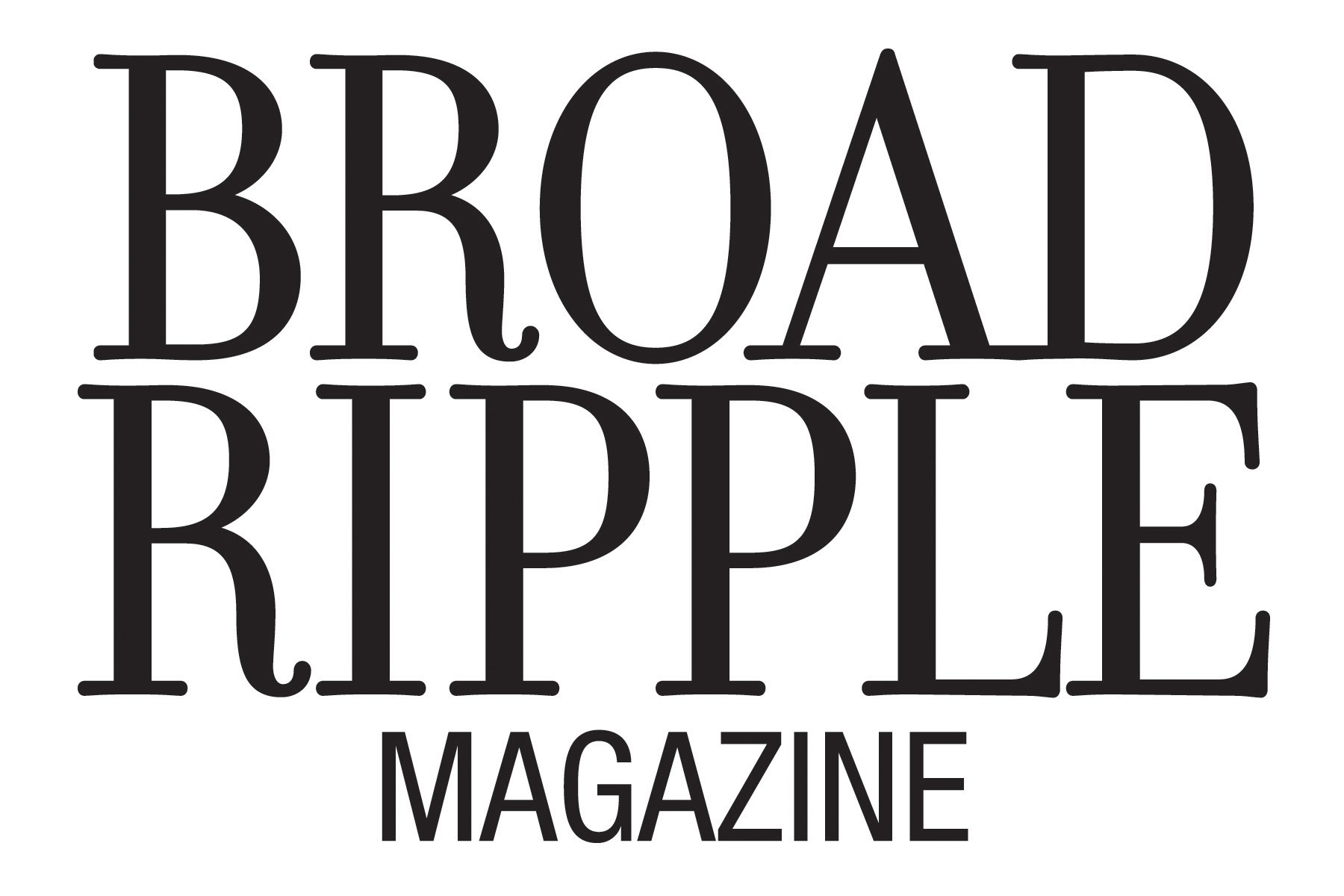 Broad Ripple Magazine Logo