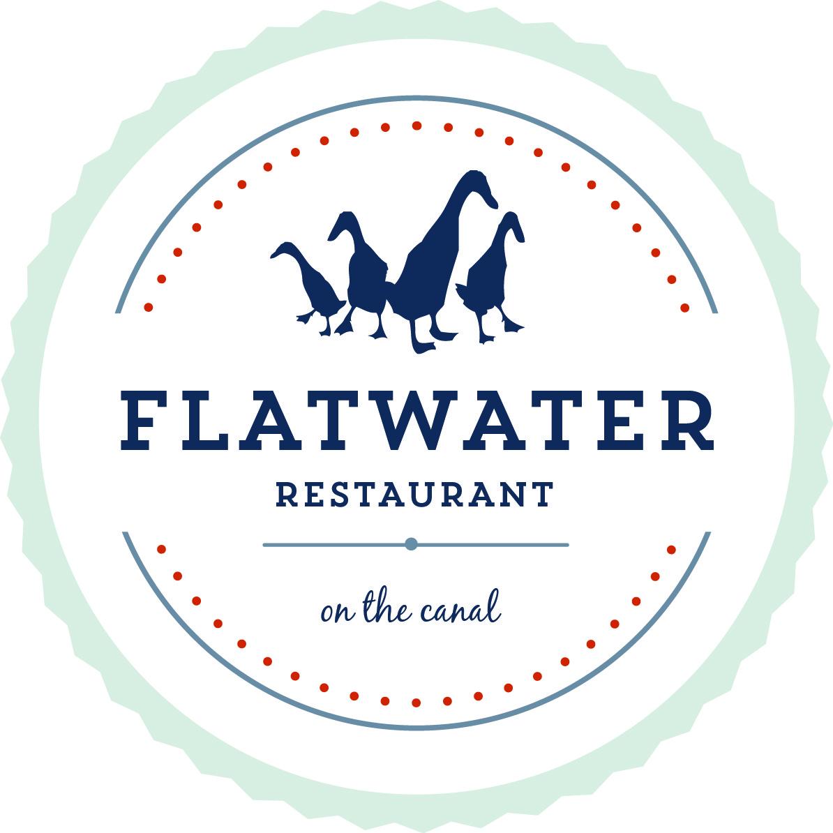 Flatwater Restaurant Logo
