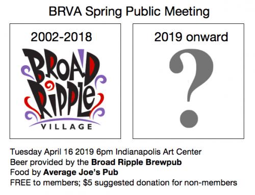 Spring Public Meeting!