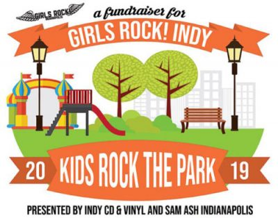 Kids Rock the Park Sign