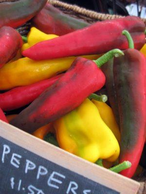Italian frying peppers