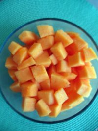 Melon bowl recipe