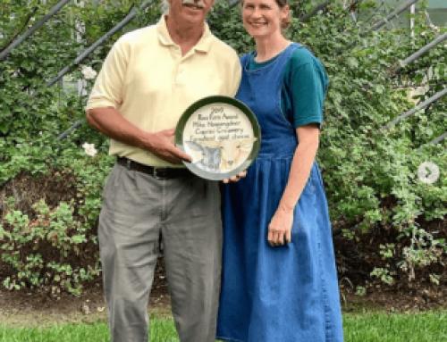 Mike Hoopengardner Wins Ross Faris Award