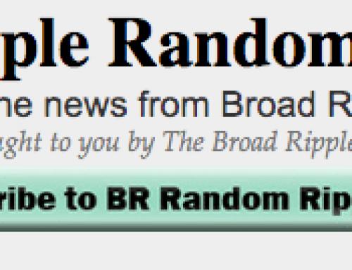 Broad Ripple Random Ripplings 1/16/20